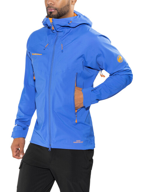 Mammut Ultimate Eisfeld SO Hooded Jacket Men ice